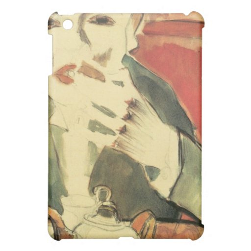 Man chewing (Walter Pritzkow) by Walter Grame iPad Mini Covers