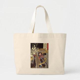 Man Confronting Fox Goddess Apparition Bag