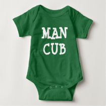 Man Cub baby boy shirt