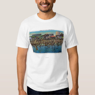 Man Diving and Taking a Dip in the Surf T-shirt