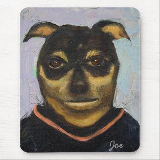 Man Dog Joe Mouse Pad