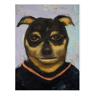 Man Dog Joe Postcard