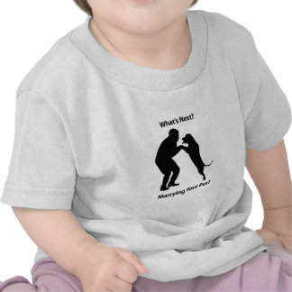 Man-Dog_Sillouette.pdf T-shirt