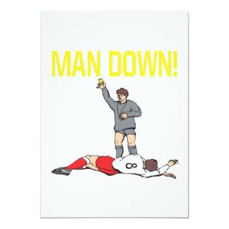 Man Down Card