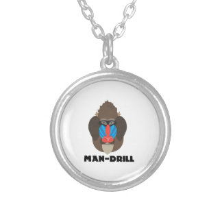 Man-Drill Personalized Necklace