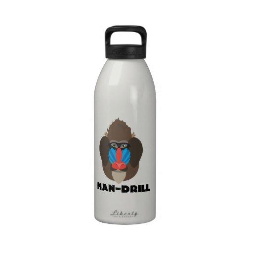 Man-Drill Drinking Bottle