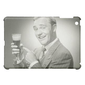 Man Drinking iPad Mini Cover