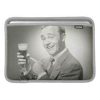 Man Drinking MacBook Air Sleeves