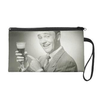 Man Drinking Wristlet