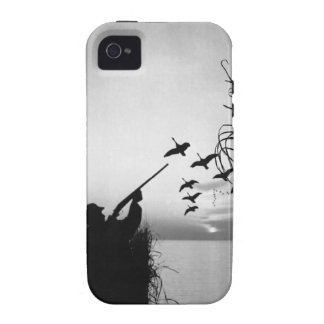 Man Duck Hunting Case-Mate iPhone 4 Covers