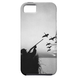 Man Duck Hunting iPhone 5 Cases