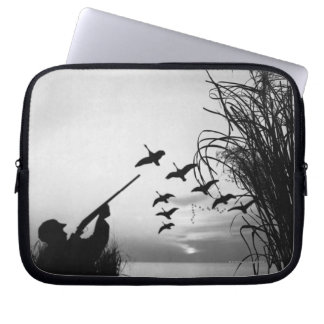 Man Duck Hunting Laptop Sleeve