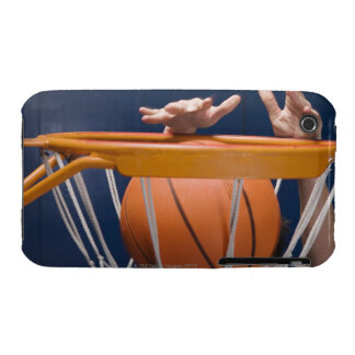 Man dunking basketball iPhone 3 cases