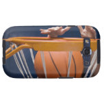 Man dunking basketball galaxy SIII covers