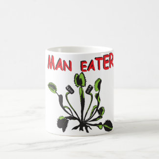 Man eater coffee mug