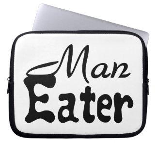 Man Eater Laptop Sleeve