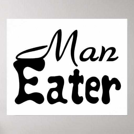 Man Eater Poster