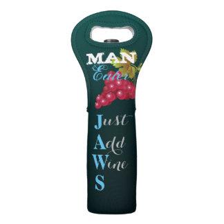 Man Eater Wine Bag