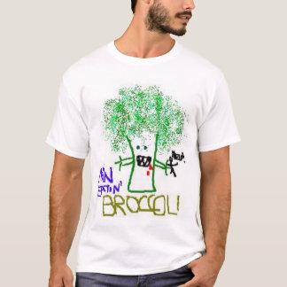 Man Eatin Broccoli T-Shirt
