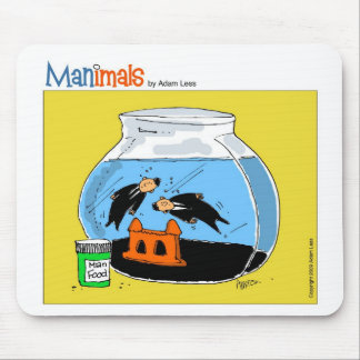 man_fish mouse pad