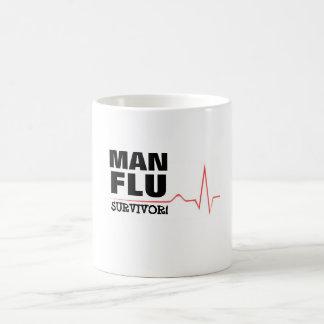 Man Flu Survivor Coffee Mug