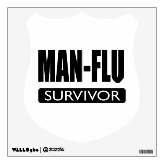 MAN-FLU SURVIVOR. WALL SKIN