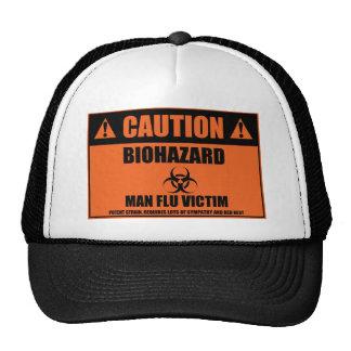 Man Flu Victim Hat