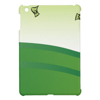 Man Giving Away Money Cartoon Banner Cover For The iPad Mini