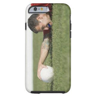Man grabbing rugby ball tough iPhone 6 case