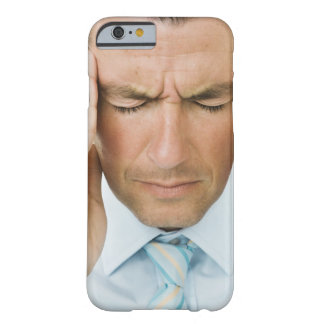 Man hands on head barely there iPhone 6 case