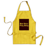 Man Hater Stay Away Gifts Apron