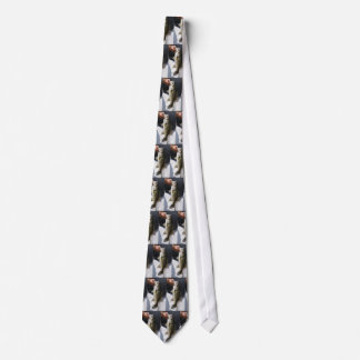 Man holding a Large Mouth Bass Neck Tie