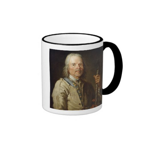 Man Holding a Staff, c.1800 (oil on canvas) Mugs