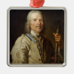 Man Holding a Staff, c.1800 (oil on canvas) Christmas Ornaments