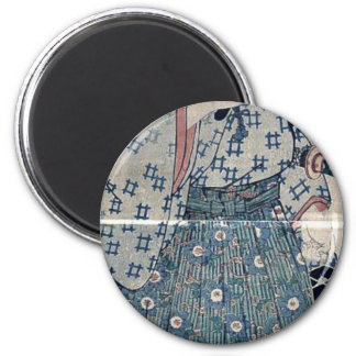 Man holding an insect carrier by Utagawa,Kunisada Refrigerator Magnets