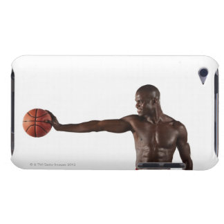 Man holding basketball barely there iPod cover