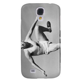 Man Hurdling Samsung Galaxy S4 Case