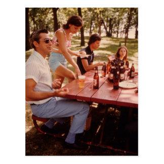 Man, I Love Beer! - Vintage Postcard
