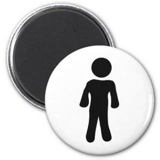 man icon magnet