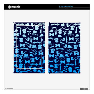 Man icons patterns only for manly men skins for kindle fire