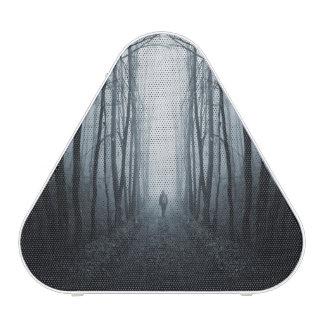 Man In A Dark Fantasy Forest Bluetooth Speaker