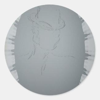 Man in a Hat 2 CricketDiane Art & Design Sticker
