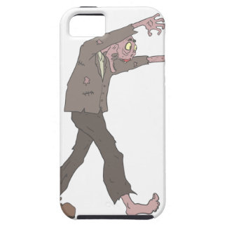 Man In A Suit Creepy Zombie With Rotting Flesh Out iPhone SE/5/5s Case