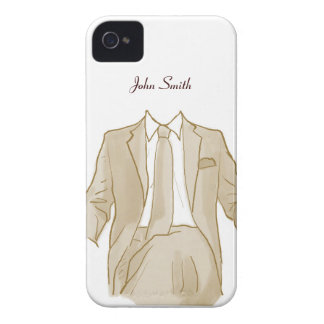 Man in a Suit iPhone 4 Case