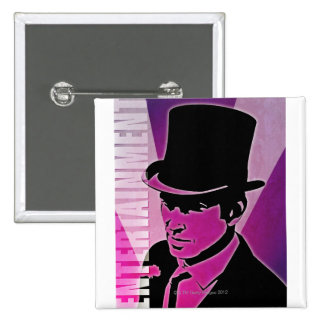 Man in a Top Hat Pin