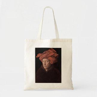 Man in a Turban Budget Tote Bag