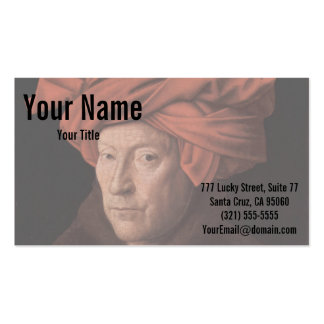 Man in a Turban Double-Sided Standard Business Cards (Pack Of 100)
