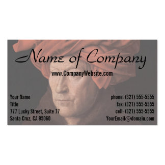 Man in a Turban Business Cards