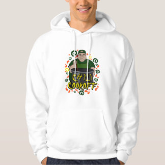 Man in Apron green Chili Cookoff Graphic Sweatshirts