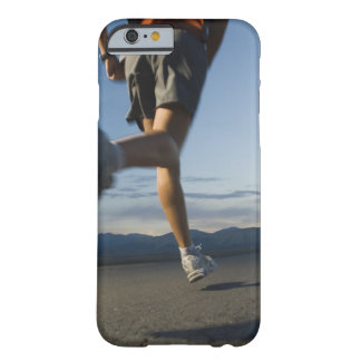 Man in athletic gear running barely there iPhone 6 case